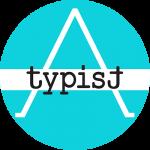 logo, A-typist, tekst, fotografie, atypisch