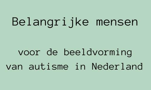 Header bij blog over beeldvorming van autisme in Nederland