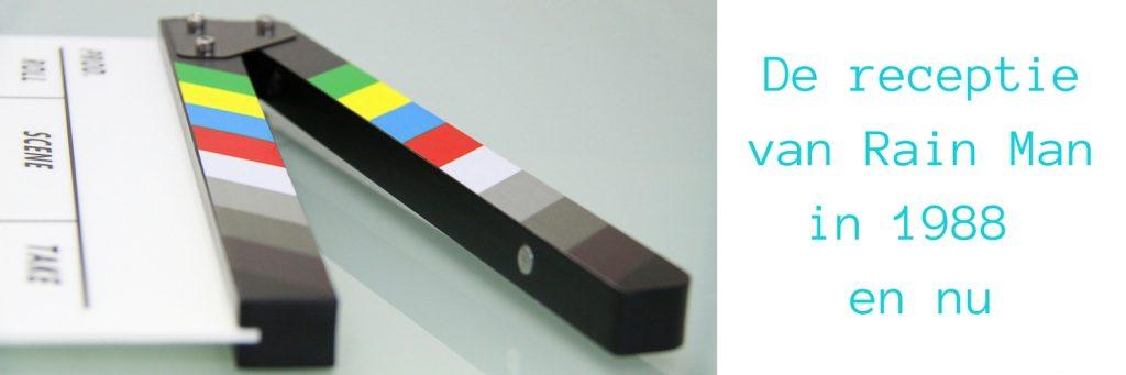 Blog header met filmklapper