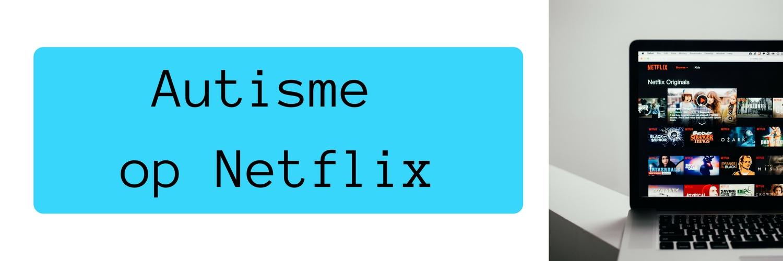 Header met Netflix op laptop