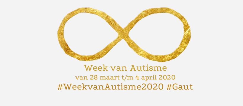 Cover bij nieuwsbericht over de autismeweek, waarvan een gedeelte van de evenementen online doorgaan