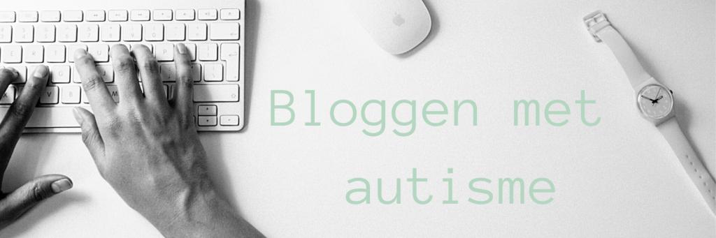 Header bij blog over het beginnen van een blog als je autistisch bent