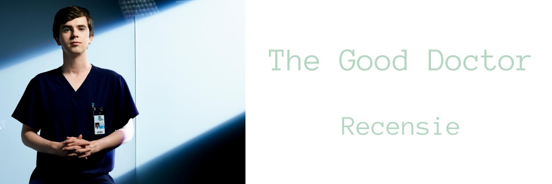 Header bij blog over The Good Doctor met een foto van Shaun Murphy